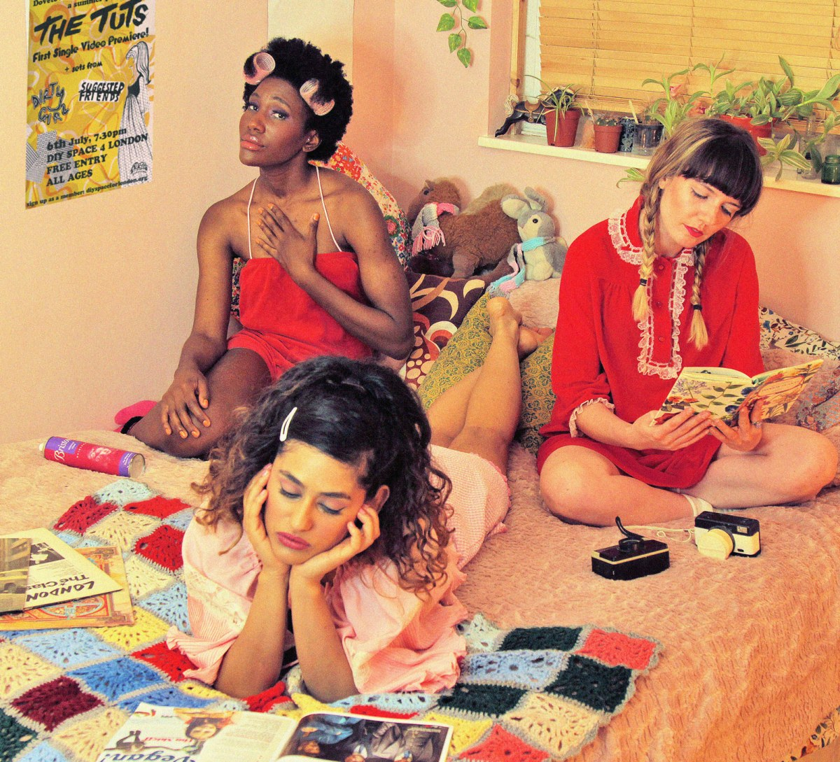 INTERVIEW! The Tuts talk sexism in music, their upcoming album, and their DIYaesthetic
